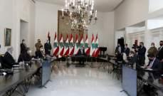 الرئيس عون: التجاوب مع قرار الاغلاق التام كان إيجابياً وسجل نسبة عالية