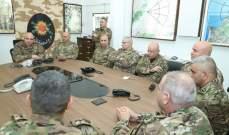 قائد الجيش تفقد قيادة لواء المشاة الثامن وفوج المدفعية الأول