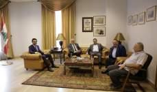 وفد من نقابة محرّري الصحافة اللبنانيّة زار محافظ بيروت