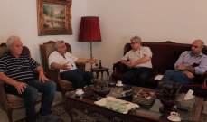 سعد التقى وفدا من الحزب الشيوعي: لإنقاذ البلد من النظام السياسي الطائفي