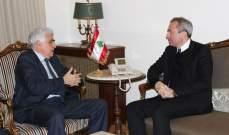 موريسون أكد لحتي استعداد بريطانيا لمساعدة لبنان للخروج من الأزمة