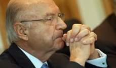 otv: اسم بهيج طبارة احترق ومفاوضات اخيرة يجريها الثنائي الشيعي بالساعات المقبلة مع الحريري