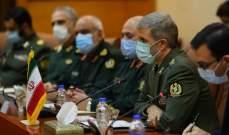 حاتمي: المنطقة تمر بظروف حساسة وإيران مستعدة لتلبية احتياجات العراق الدفاعية