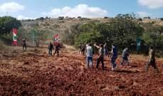 استنفار إسرائيلي مقابل كروم الشراقي في ميس الجبل بعد قيام الأهالي بحرث الأراضي على الحدود