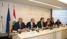 شقير: لبنان يخطو خطوات ثابتة نحو تطوير اقتصاده واستثمار طاقاته