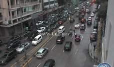التحكم المروري: حركة مرور كثيفة من تقاطع برج الغزال باتجاه الاشرفية