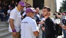 حزب 7 انهى اعتصامه امام وزارة الاتصالات: بدأنا المقاومة المدنية