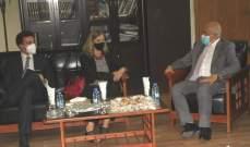 بومبارديري زارت يمق وأكدت حرص إيطاليا على دعم مشاريع إنتاجية صغيرة بطرابلس