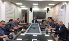 مجلس الأمن الفرعي بصيدا: الملاحقة القانونية لأية تجمعات أو تظاهرات من دون موافقة الأجهزة الرسمية
