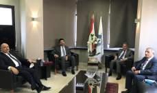 نجم التقى وزني بحضور وزير الطاقة: ابتداء من 15 أيار ستبدأ العتمة تدريجياً