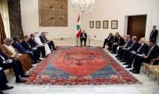 الرئيس عون طالب بمساعدة الدول العربية للنهوض بالاقتصاد اللبناني مجددا
