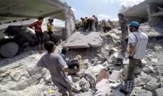 المرصد السوري: مقتل 15 مدنيا بغارات للنظام على إدلب في شمال غرب سوريا