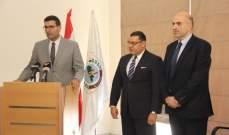 السفير المصري التقى وزير الزراعة واكد استمرار بلاده باستيراد التفاح اللبناني