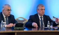"""وفد دبلوماسي روسي في أنقرة للبحث بعقد لقاء جديد بصيغة """"أستانا"""" حول سوريا"""