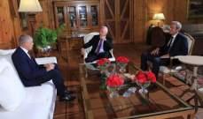 فرنجية عرض الأوضاع الإقتصادية مع سفير الاتحاد الاوروبي في لبنان