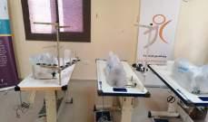 آلات خياطة من اليونيفيل الإيطالية لمركز الخدمات الإنمائية في بنت جبيل