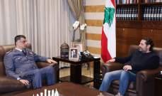 الحريري عرض مع اللواء عثمان الاوضاع الامنية واجراءات قوى الامن