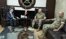 قائد الجيش التقى الفرزلي والمقداد على رأس وفد من جمعية تجار بعلبك