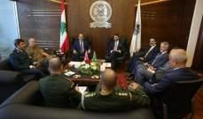الصراف: نؤكد على موقف لبنان الرافض المساس بسيادته والمتمسك بثرواته