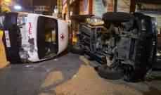 التحكم المروري: وفاة جريح متأثرا بإصابته اثر حادث مروري محلة شارع دلاعة بصيدا