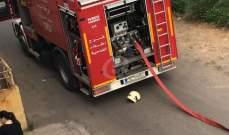 حريق في فندق في جبيل والدفاع المدني يعمل على اخماده