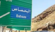 قطع السير على اوتوستراد البحصاص في طرابلس بالاتجاهين