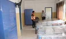 انهاء تجهيز مستشفى قانا الحكومي كمركز عزل صحي للمصابين بالفيروس
