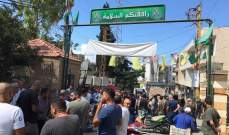 النشرة: اقفال مدخل مخيم البرج الشمالي احتجاجا على قرار منع الفلسطينيين من العمل