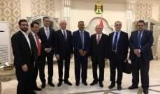 زعيتر في بغداد لتطوير التعاون الزراعي: العراق تقف بجانبا في كل القضايا