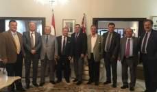قنصل لبنان العام في سيدني استقبل وفد نقابة الصحافة اللبنانية