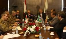 الصراف نوّه بالعلاقات التاريخية المميزة التي تجمع اللبنانيين والبرازيليين