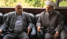 عبدالرزاق زار مصطفى حسين لتقديم لتهنئته بفوزه في الإنتخابات