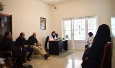 الهيئة الصحية في حزب الله تفقدت أحوال مسني بيت الراحة في عبرا