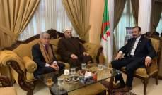 الشيخ جبري التقى السفير الجزائري: لتوحيد جهود الأمة لمواجهة التحديات