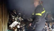 الدفاع المدني: إخماد حريق داخل مستوعب معدني لتخزين الأدوية في سبلين