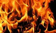 الدفاع المدني: إخماد حريق محول للتغذية بالطاقة الكهربائية في أنصارية