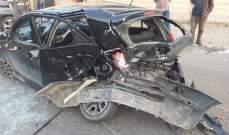 النشرة: 3 جرحى نتيجة حادث سير على طريق الغازية البحري باتجاه صيدا