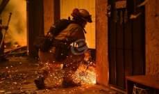 صحيفة أميركية: السيطرة على 56 بالمئة من حرائق كاليفورنيا