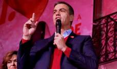 سانشيز تصدر الانتخابات التشريعية في إسبانيا واليمين المتطرف أحرز تقدما