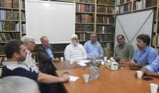 لقاء تربوي بين القوى الإسلامية ودائرة التربية والتعليم في الأونروا
