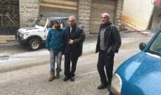 هاشم: الحاجة ملحة لتأمين مركز دائم لإزالة الثلوج في قرى العرقوب