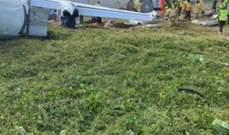 3 جرحى نتيجة اصطدام طائرة كينية بجدار في مطار مقديشو