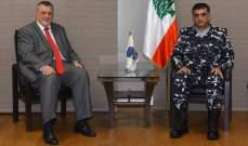 اللواء عثمان التقى كوبيش وعرض معه الأوضاع العامة في البلاد