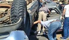 التحكم المروري: وفاة الجريح بحادث السير على طريق السعديات باتجاه الجية