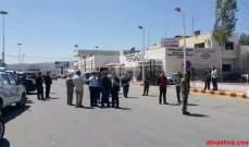 مظاهرة لأهالي جسر الشغور بريف ادلب تنديداً بالفساد الذي تشهده المدينة