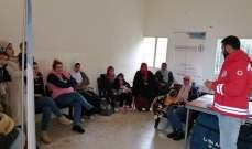 مجلس كنائس الشرق الأوسط نظم بالتعاون مع بلدية الهبارية دورة تدريبية عن الإسعافات الأولية
