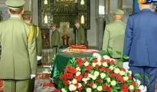 بدء مراسم تشييع جثمان الراحل قايد صالح في العاصمة الجزائرية