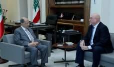 الرئيس عون التقى جوزيف أبو فاضل في قصر بعبدا