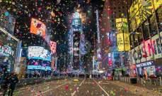 سلطات مدينة نيويورك الأميركية اغلقت ساحة تايمز سكوير أمام المحتفلين برأس السنة
