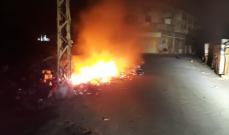 النشرة: اخماد حريق في المدينة الصناعية الاولى في صيدا